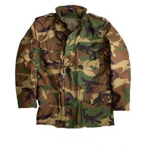 4737ea7d180 M65 Field Jacket BDU Woodland Camouflage