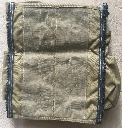 Paraclete Back Panel for Body Armor Carrier SWATCH