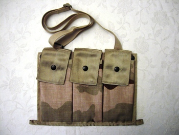 Bandoleer M16 Desert MOLLE Ammo Pouch LARGE