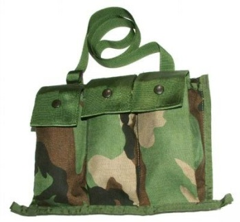 Bandoleer M16 Woodland MOLLE Ammo Pouch
