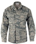 USAF ABU Digital Tiger Stripe Uniform Women's THUMBNAIL
