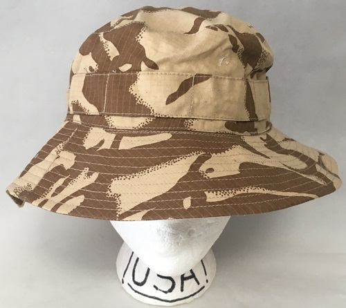 Genuine Issue British DPDM Army Tropical UBACS Boonie / Sun Hat MAIN