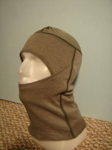 Army Elite Issue Antiflash Flame Resistant USGI PBI Coyote Brown Balaclava Hood MAIN