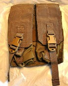 Eagle Industries AK/M4 Double  Mag Pouch Holds 4 w Buckle_THUMBNAIL