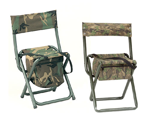 Deluxe Quiet  ACU Camo Folding Chair w/pouch MAIN