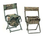 Deluxe Quiet  ACU Camo Folding Chair w/pouch THUMBNAIL