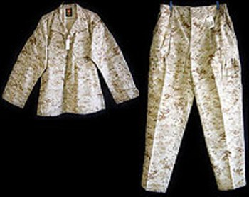 USMC ISSUE MCCUU Desert Digital Marpat Uniforms LARGE
