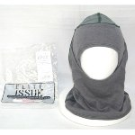 Army Elite Issue Antiflash Flame Resistant USGI PBI Sage Grey Balaclava Hood THUMBNAIL