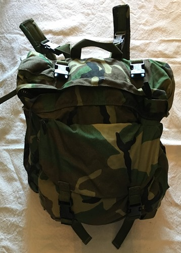 USGI Woodland BDU Camo Patrol Pack Attaches to CFP 90_MAIN