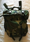 USGI Woodland BDU Camo Patrol Pack Attaches to CFP 90
