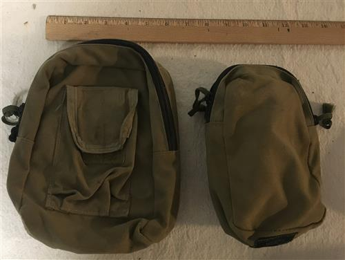 Tactical Tailor TWO General Purpose Pouches Coyote Brown LARGE