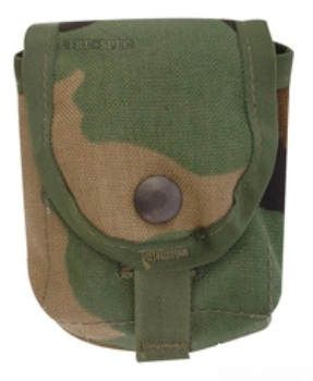 Grenade Pouch Woodland MOLLE Ammo Pouch