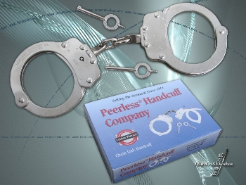 Peerless Chain Link Handcuffs Model 700