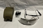 2 Lenses Military Class 2 Ballistic Shooting Safety Glasses Goggles SPECS THUMBNAIL