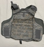 ACU IOTV Front & Back Carrier Size Small NO Kevlar or Sides THUMBNAIL