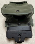 Olive Drab  M240B 50 Round 7.62 Linked Magazine Cartridge USGI Issue THUMBNAIL