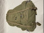 WW II 1942 Meese Mountain Ruck Sack with Snow Camo Cover Superior Condition THUMBNAIL