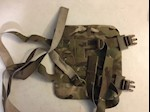 KDH Magnum TAC 1 LEFT Side Plate Carrier Single Piece WITH Ballistic Kevlar Inserts L-XL THUMBNAIL