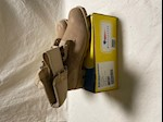 CLOSEOUT! Belleville Hot Weather Type II Desert Tan Boots Size 3 1/2 Narrow THUMBNAIL