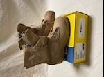 CLOSEOUT! Belleville TWA GORE-Tex Desert Tan Boots Size 4 1/2 Regular THUMBNAIL