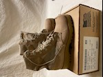 CLOSEOUT! McRae OR Altama Hot Weather Type II Desert Tan Boots Size 3 1/2 Narrow to 4 1/2 Regular THUMBNAIL