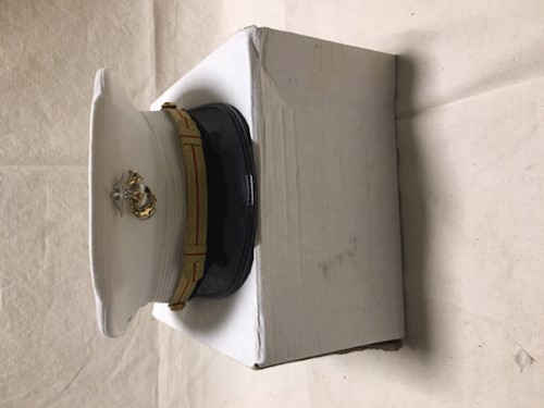 7 1/4 Marine Corp Officer Dress Cap LARGE