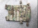 Army TAC I Multicam FRONT Plate Carrier with IIIA VISM Ballistic Inserts THUMBNAIL
