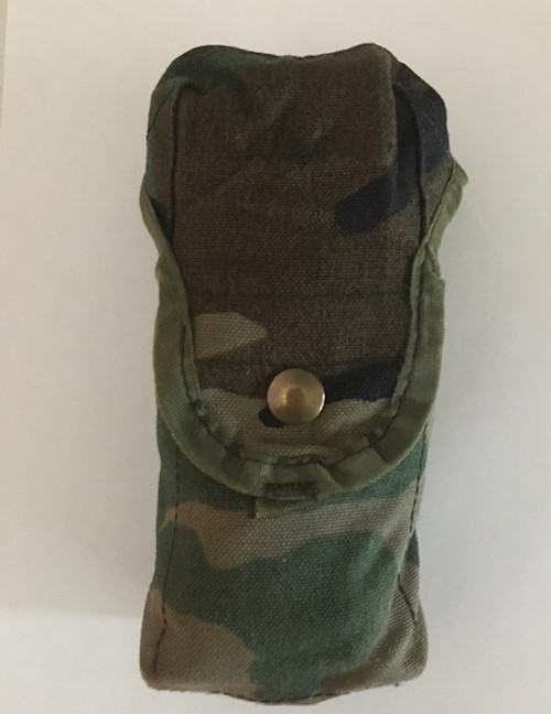 BDU Woodland Camo M16A2 Double Mag (30 Rounds) Pouches by Specialty Defense LARGE
