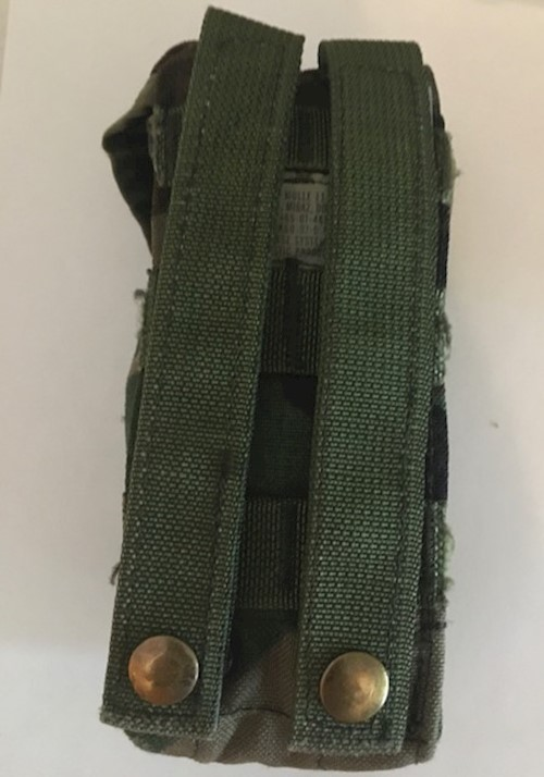 BDU Woodland Camo M16A2 Double Mag (30 Rounds) Pouches by Specialty Defense SWATCH