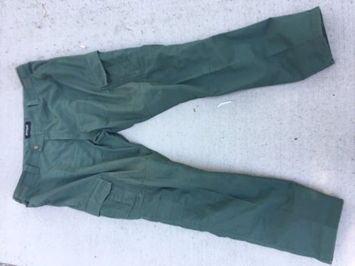 Blackhawk Warrior Wear MDU Slick Pants 3X/Long Olive Drab LARGE