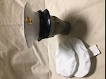 Bernard Cap Company Marine Corp Enlisted Dress White Cap 7 1/8 THUMBNAIL