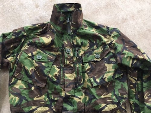 British Military DBP Field Jacket Temperate Weather NEW SWATCH