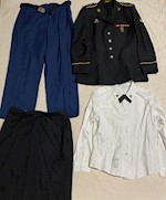 Army Marlow White FEMALE Enlisted ASU Dress Blue Set Sizes 14 - 18 THUMBNAIL