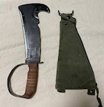 1966 Collectible Vietnam Frank & Warren Survival Axe Type IV Mil-S-8642C THUMBNAIL