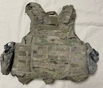 KDH Defense MutliCam IOTV Tactical Plate Carrier w Kevlar Inserts & (2) ACU Pouches Size Small THUMBNAIL