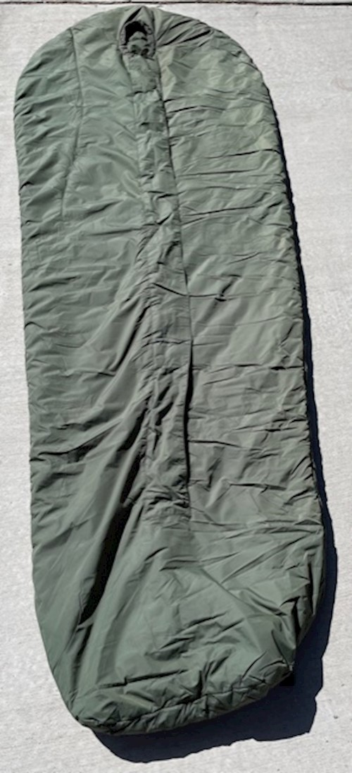 British Army Medium Weight Sleeping Bag Comfort Rating 14 Degrees F LARGE