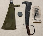 2nd World War Collectible Original U.S. LC-14-B Woodman Pal Survival Axe Victor Tool Co.  Complete THUMBNAIL