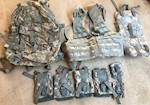 ACU MOLLE USGI Riflemen Set - 3 day assault pack, FLC Vest, hydration pouch & 6 pouches! THUMBNAIL