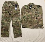 Air Force / Army Elements OCP Jacket & Trouser Set CWAS w Battleshield X Fabric FR Size Large THUMBNAIL
