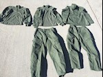 Combat Pants and Shirts Set of 5 Pieces Small/Short THUMBNAIL