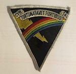 Vintage US Navy CVW 14 Carrier Air Wing Patch Fortuna Favet Fortibus THUMBNAIL