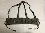 Chinese Military SKS Type 56 SEMI Chest Rig Bandolier 7.62 Harness THUMBNAIL