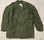 1967 Vietnam OG-107 Sateen Field Jacket M65 with Liner UNUSED! Large/Long THUMBNAIL