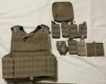 A-TACS Warrior Assault DCS Plate Carrier with 9 pouches THUMBNAIL