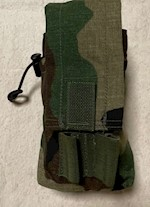 'Army Ranger Assault Carrying Kit' (R.A.C.K.) 30 Round M4 Double Mag Pouch by SDS P/N F10003 THUMBNAIL