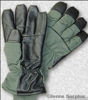 Hau-15/P Nomex Insulated  Pilot Flight Crew Gloves