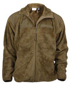 ECWCS Generation III Level 3 High-Loft BROWN Fleece Jacket