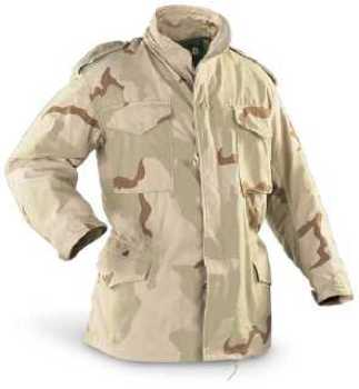 M65 Field Jacket DCU Tri-Color Desert Camouflage