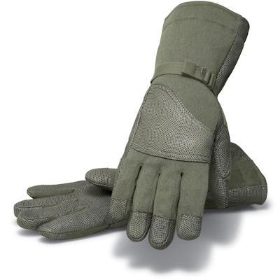 Closeout! Masley Cold Weather Flyer's Glove CWF Green LARGE