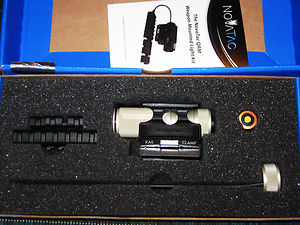 Novatac Tactical Weapon Light Kit